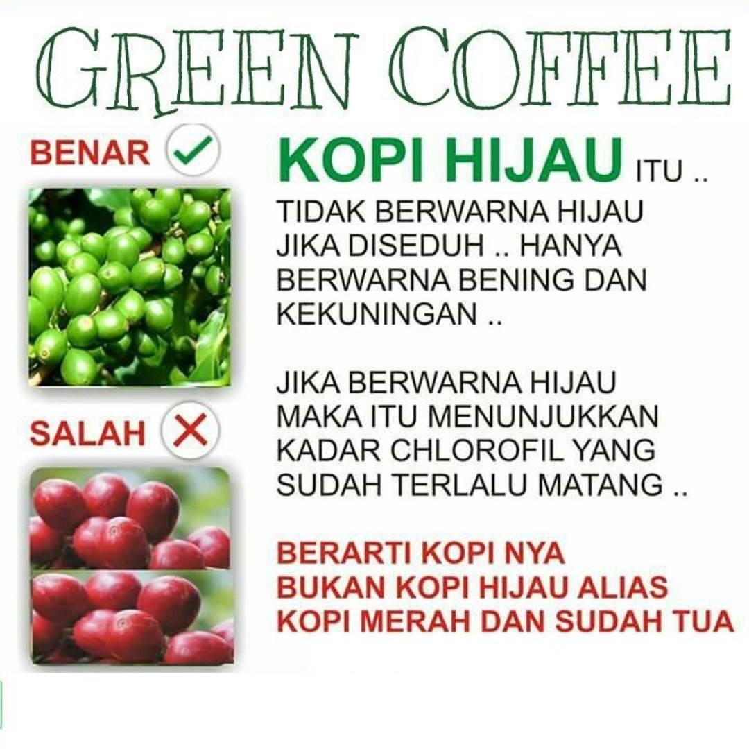 Info Obat Herbal Green Coffee Kopi Hijau Siap Minum Warna Setelah Diseduh