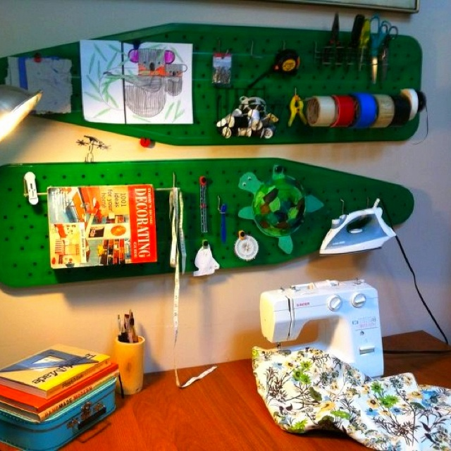 Amazing Ideas For Repurposing That Old Ironing Board