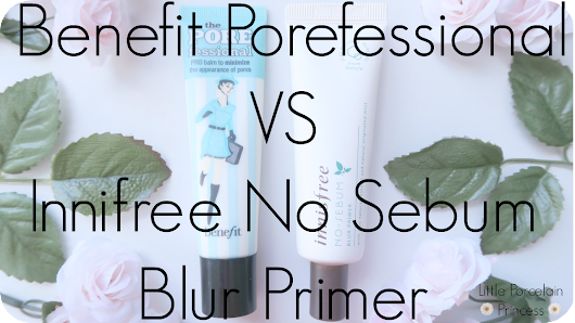East VS West Review: Benefit Porefessional VS Innifree No Sebum Blur Primer
