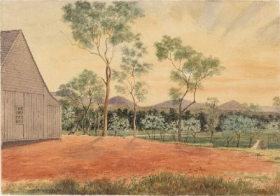 Sketches of Australian Scenes, 1852-1853, JG Sawkins - Gigoomgan (Messers Hays)  State Library of NSW.