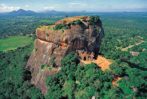 Sigiriya: Rocha do Leão - Sri Lanka