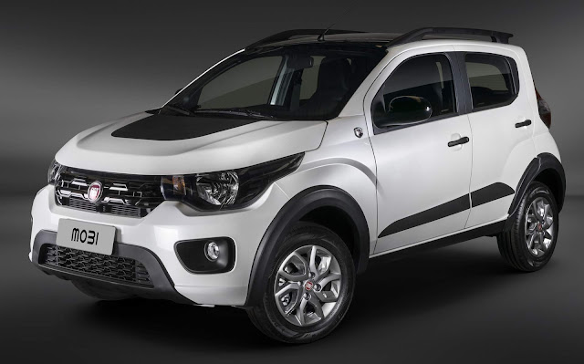 Fiat Mobi 2019 Way Extreme Cross