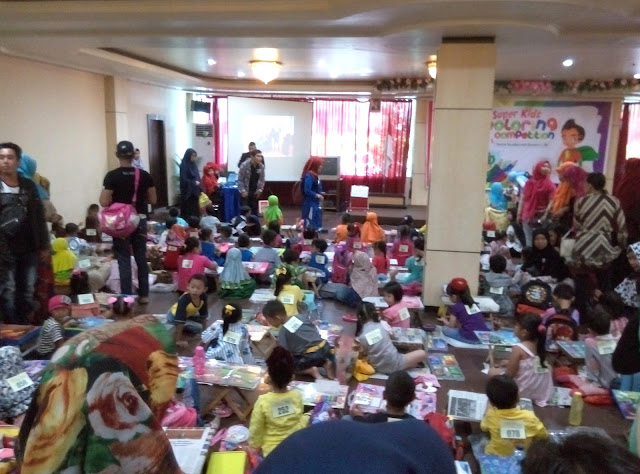 Super Kids Coloring Competition