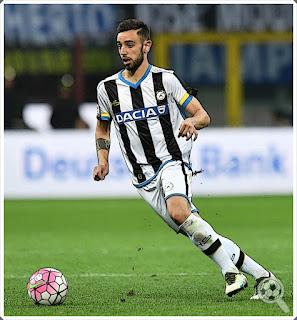 Bruno Fernandes Udinese Midfielder