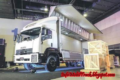 inovasi isuzu dump truk