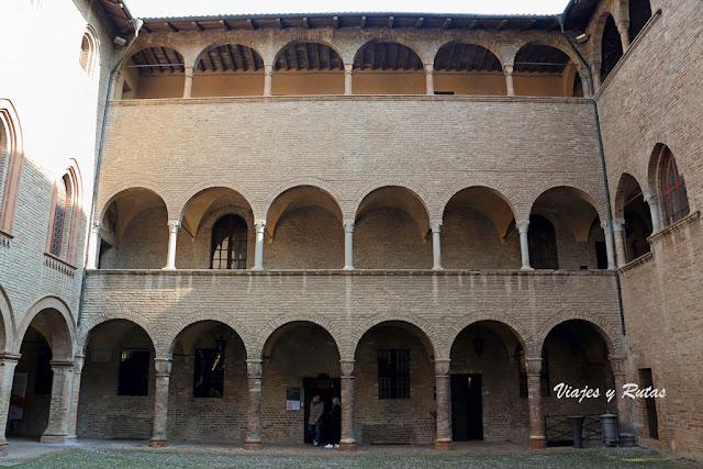 Interior del Castillo de Fontanellato