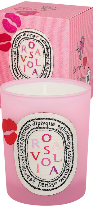 Diptyque Rosaviola Scented Candle, 190g