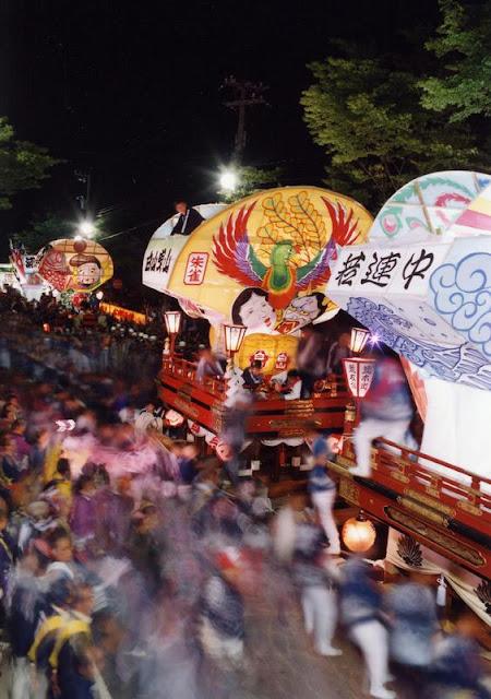 Iwase Hikiyama Matsuri (Fighting Float Festival), Toyama City, Toyama