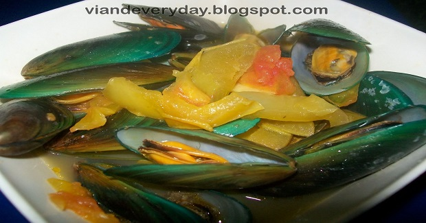 Sauteed Mussels With Orange Juice Recipe