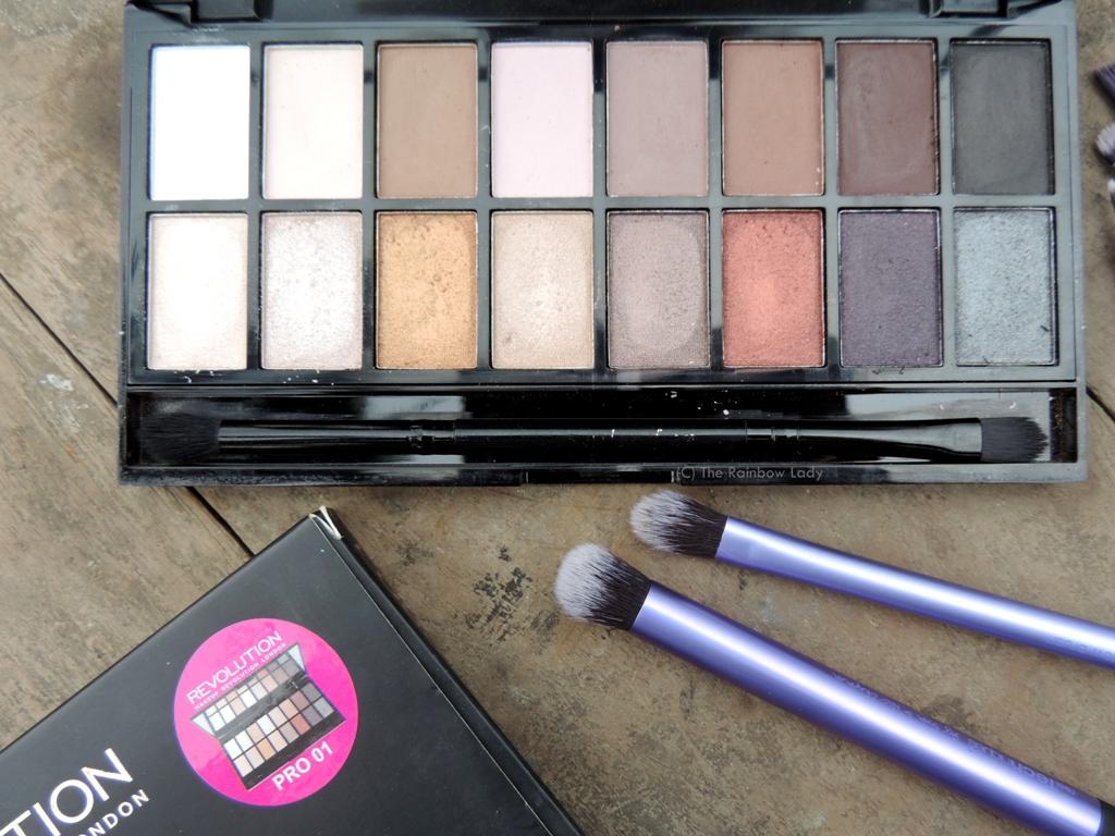 Makeup Revolution Iconic Pro 1 Palette Review
