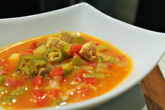 Recipe: Chicken Gumbo Soup