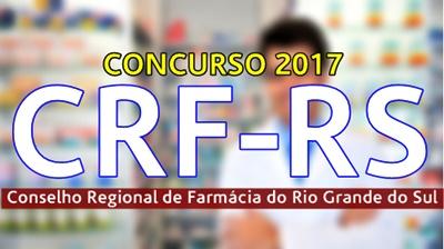 Concurso CRF-RS 2017