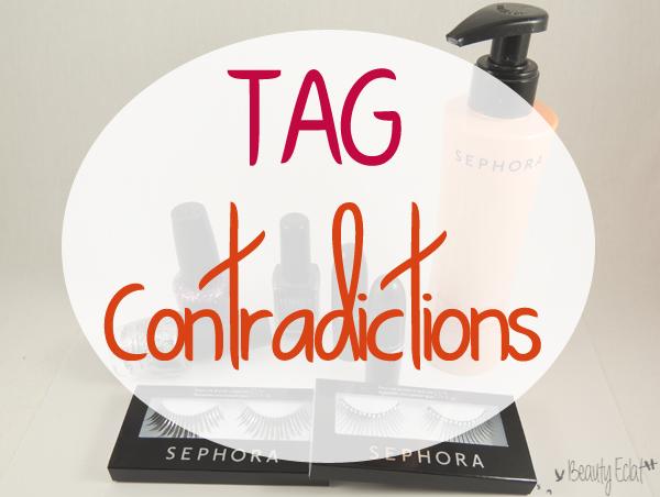 tag contradictions beauté