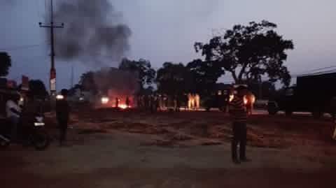 Tense Situation in Kilinochchi