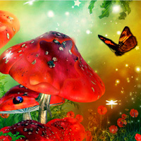 Play Games2Rule Butterfly Fantasy Forest Escape