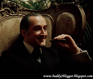 Boris Klyuev as Mycroft Holmes in the Russian adaptation of Sherlock Holmes
