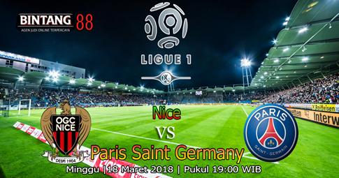 PREDIKSI  Nice vs Paris Saint Germain 18 Maret 2018
