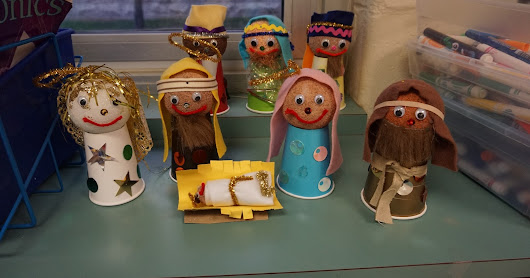 Cute Nativity Craft