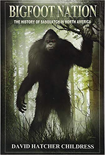 Monthy Book Cover Contest Winner : Bigfoot Nation