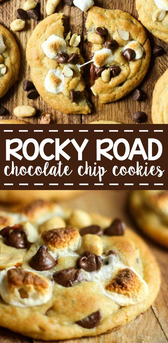 ★★★★☆ 5761 ratings | ROCKY ROAD COOKIES  #HEALTHYFOOD #EASYRECIPES #DINNER #LAUCH #DELICIOUS #EASY #HOLIDAYS #RECIPE #DESSERTS #SPECIALDIET #WORLDCUISINE #CAKE #APPETIZERS #HEALTHYRECIPES #DRINKS #COOKINGMETHOD #ITALIANRECIPES #MEAT #VEGANRECIPES #COOKIES #PASTA #FRUIT #SALAD #SOUPAPPETIZERS #NONALCOHOLICDRINKS #MEALPLANNING #VEGETABLES #SOUP #PASTRY #CHOCOLATE #DAIRY #ALCOHOLICDRINKS #BULGURSALAD #BAKING #SNACKS #BEEFRECIPES #MEATAPPETIZERS #MEXICANRECIPES #BREAD #ASIANRECIPES #SEAFOODAPPETIZERS #MUFFINS #BREAKFASTANDBRUNCH #CONDIMENTS #CUPCAKES #CHEESE #CHICKENRECIPES #PIE #COFFEE #NOBAKEDESSERTS #HEALTHYSNACKS #SEAFOOD #GRAIN #LUNCHESDINNERS #MEXICAN #QUICKBREAD #LIQUOR