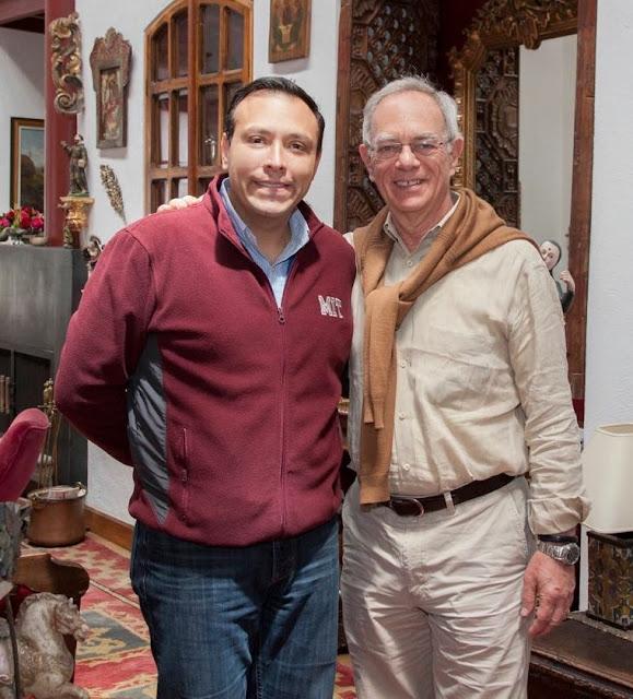Rafael Rief, el primer latinoamericano, que lidera la universidad tecnológica más famosa del mundo, en Ecuador