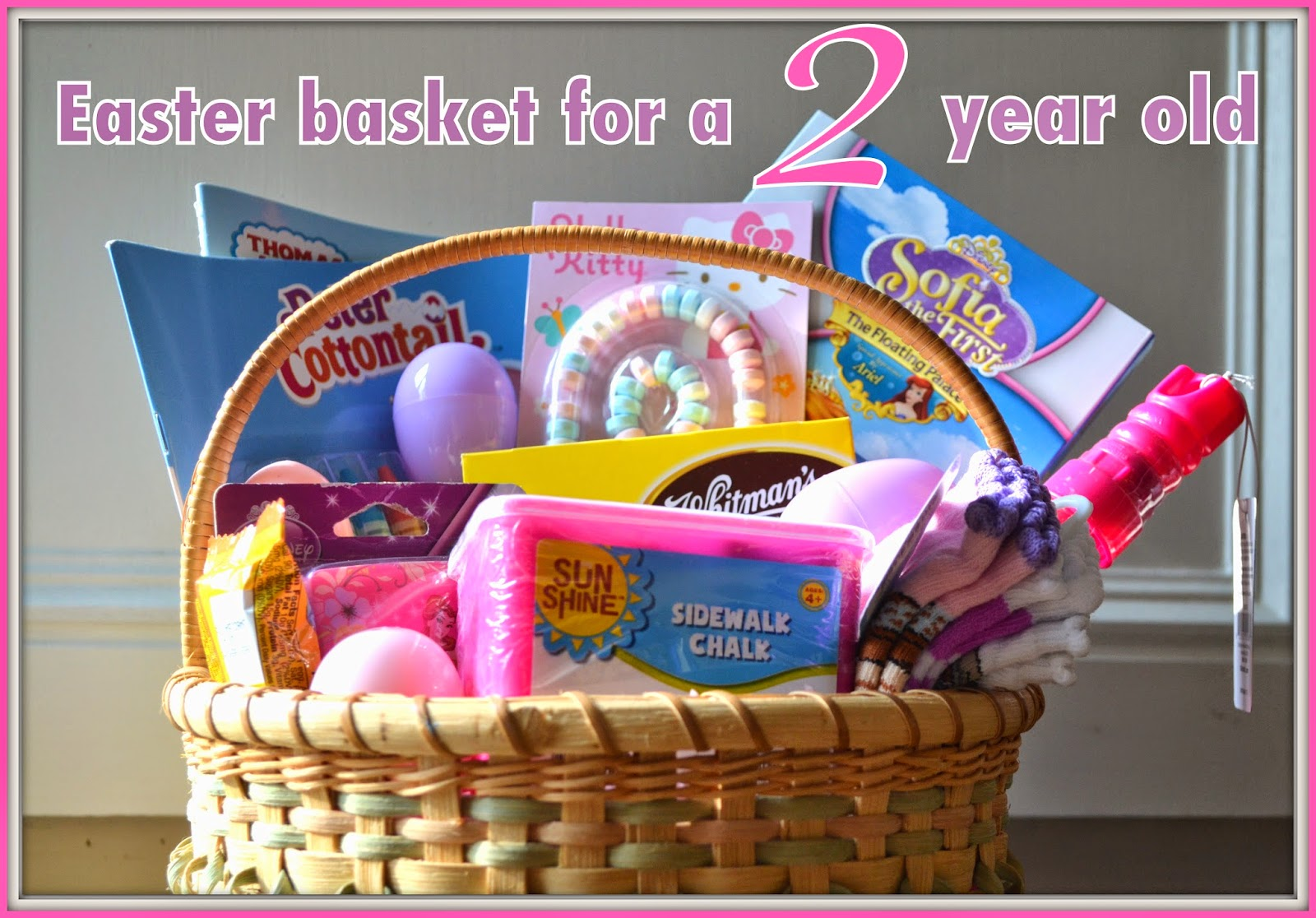 Easter Basket Ideas For A Two Year Old Logic Laughter