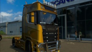 Scania 2016 Reworked Engine and Sound
