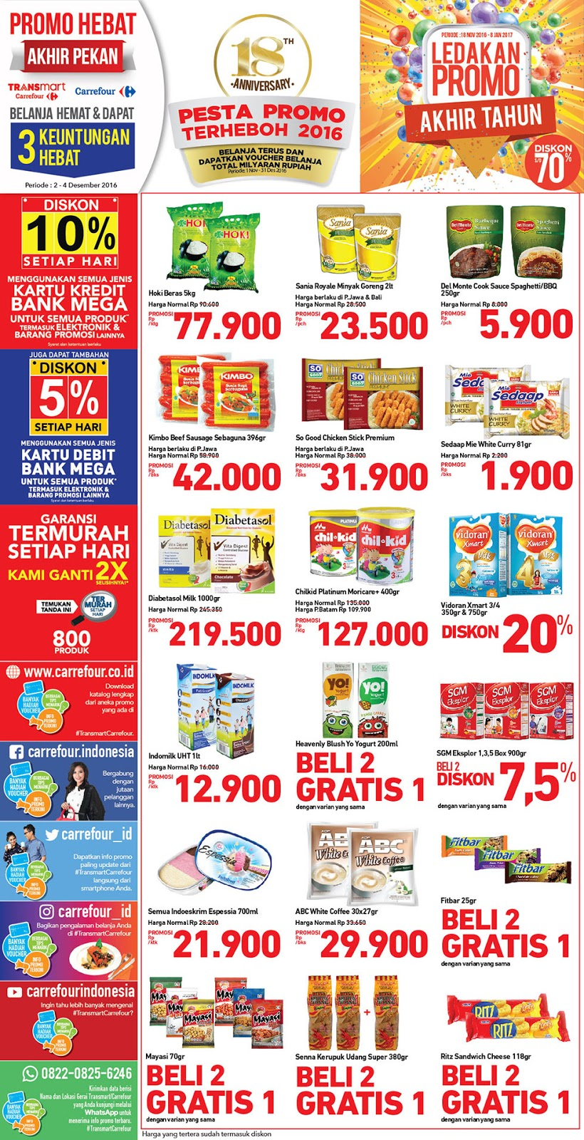 Katalog Promo Nusantara Jsm Carrefour 2 4 Desember 2016 Katalog