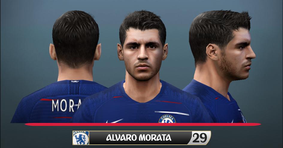 Face & Hair ( Álvaro Morata ) PES2006
