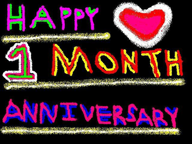 Almost One Year Anniversary Quotes: I Love Yhu Hoe!! Mwah!: I Love You Baby Happy 1 Month. We