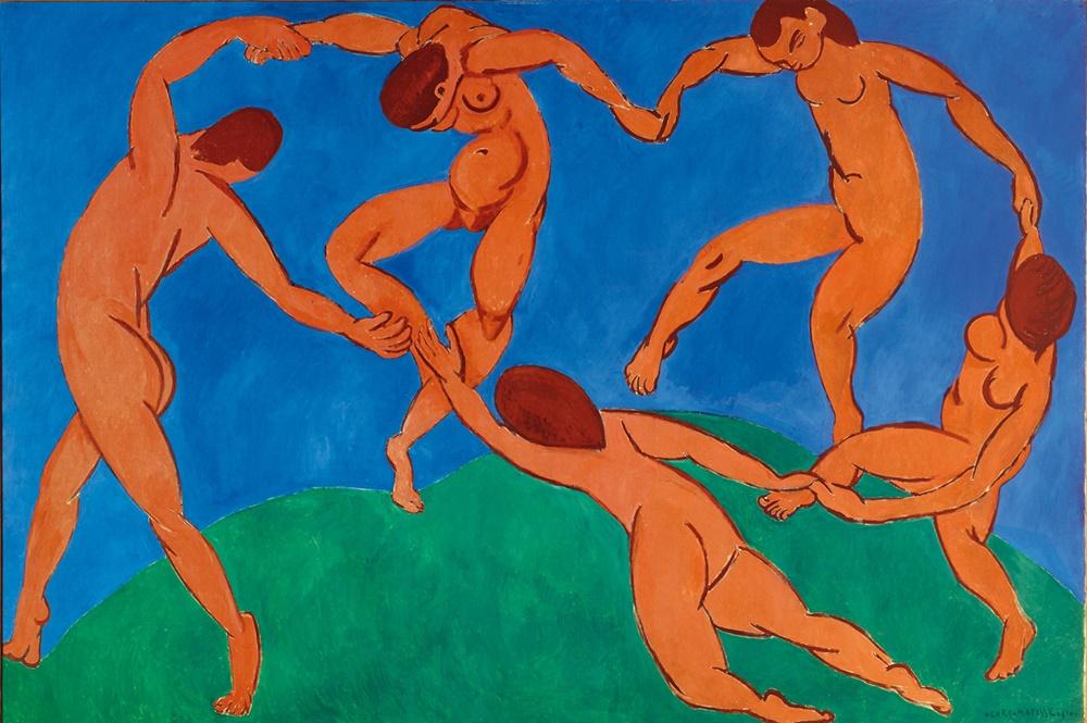 A Dança - Pinturas de Matisse, Henri - (Fauvismo) Francês
