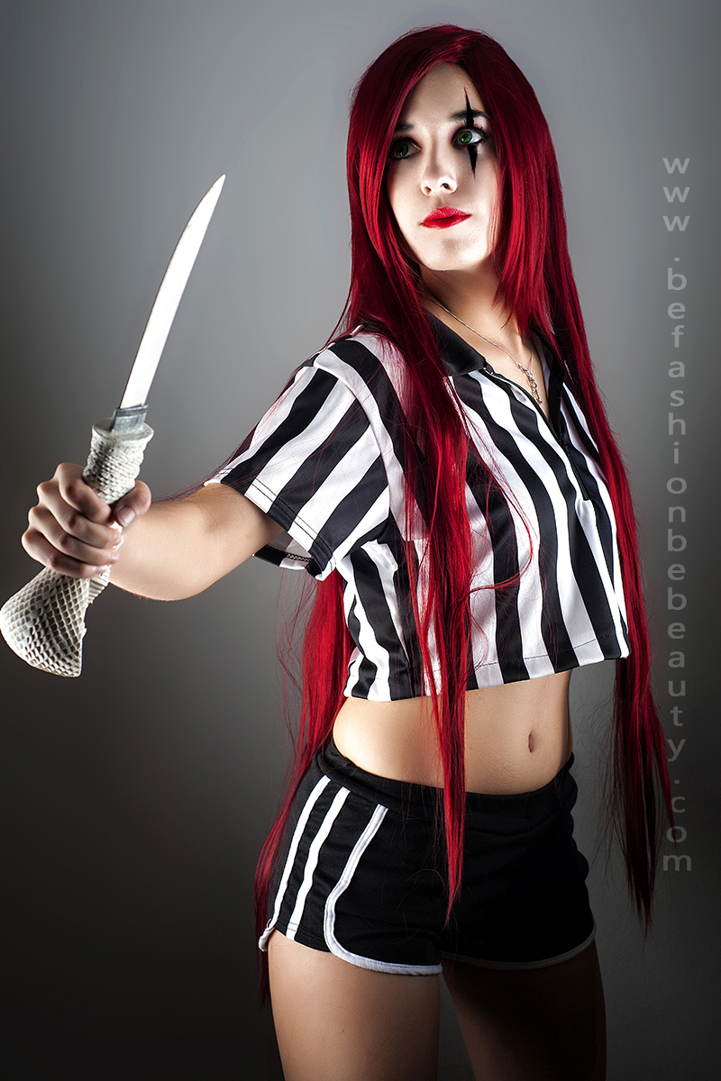 """Maquillaje paso a paso con """"Be fashion. Be beauty."""" : 004 (Katarina/Cosplay, League of Legends)"""