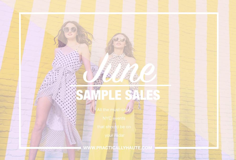 June 2018 Sample Sales