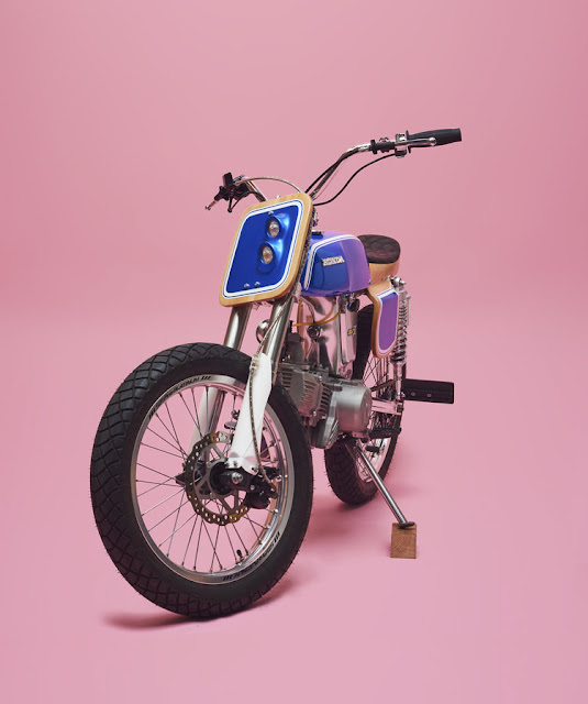 Honda SS50 Wild Horse by George Woodman