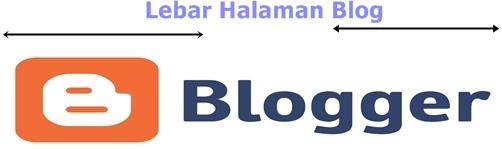 Mengatur Lebar Halaman Template Blog