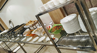 Dinner buffet in wedding banquet at country inn and suites by Radisson Navi Mumbai