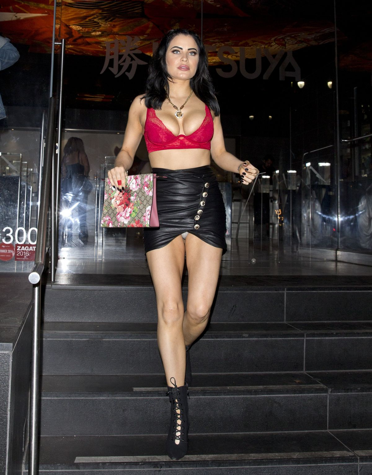 Carla Howe Night Out in Hollywood 09/23/2018