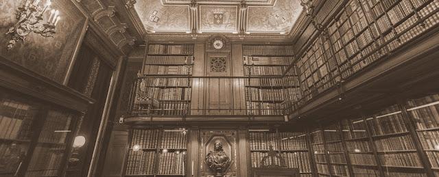 Zalety i wady księgozbioru w różnych miejscach albo o książkach rozproszonych