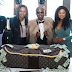 Wow! This is a millionaire birthday cake and not a money bag, see them cutting it