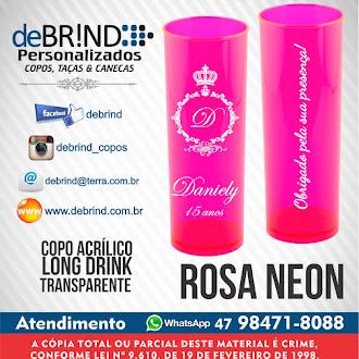 → ROSA NEON - COPO PERSONALIZADO - MODELO DE ARTES