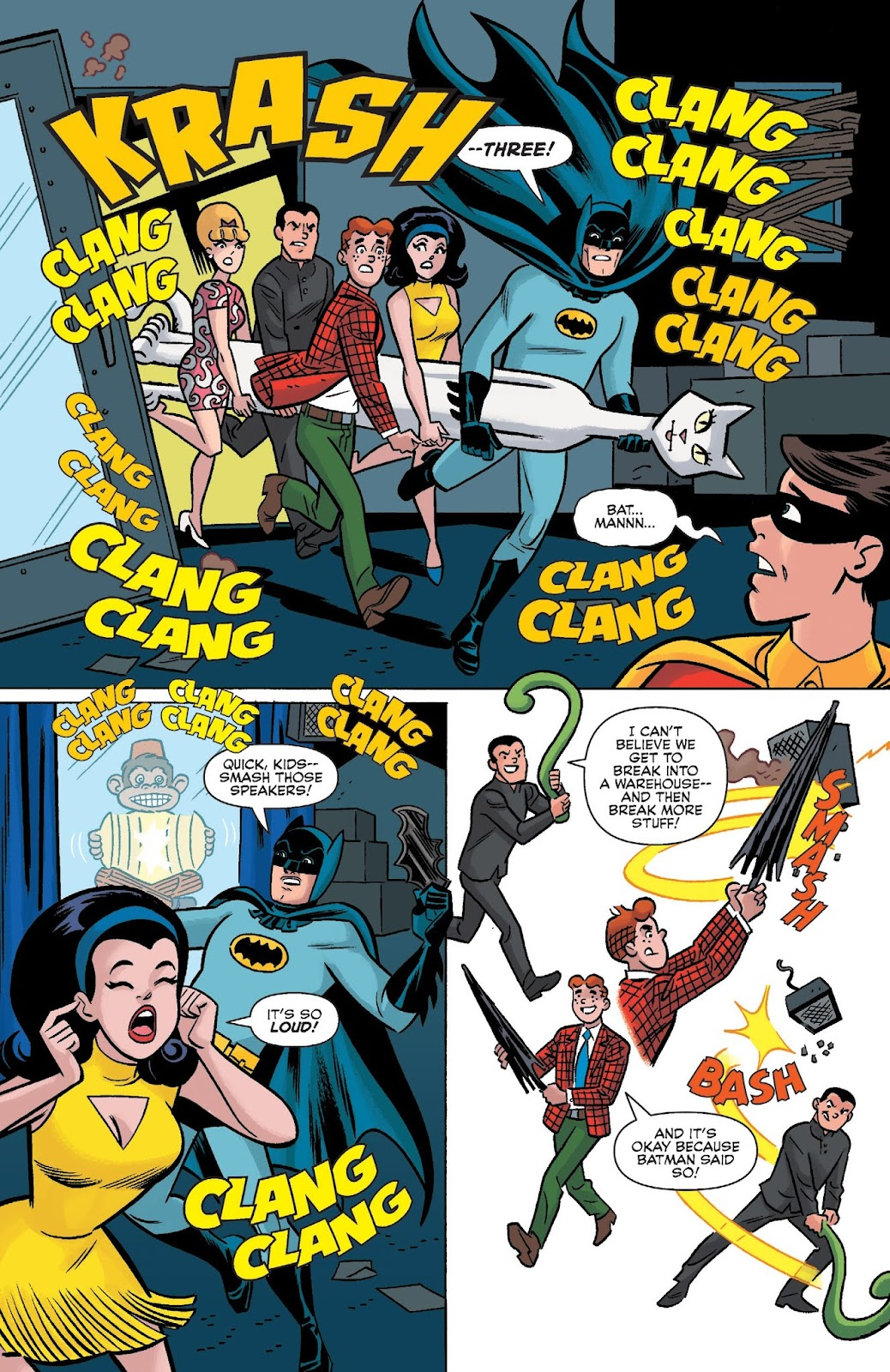 Read online Archie Meets Batman '66 comic -  Issue #5 - 9