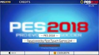 FTS Mod PES 2018 HD by OL-IX