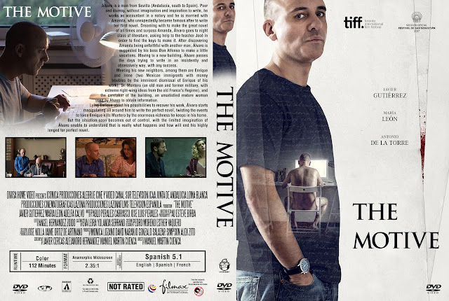 The Motive (El Autor) DVD Cover