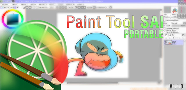 paint tool sai para windows 7