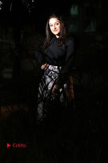 Actress Sonia Agarwal Stills in Black Top at Yevanavan Tamil Movie Audio Launch Event  0009.jpg