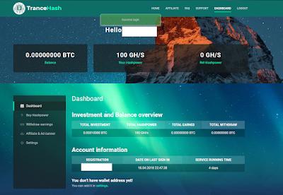 trancehash site