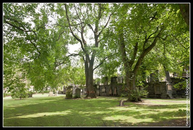 Cementerio Greyfriars  Edimburgo (Escocia)