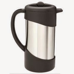 Thermos Nissan Vacuum Insulated Gourmet Coffee Press
