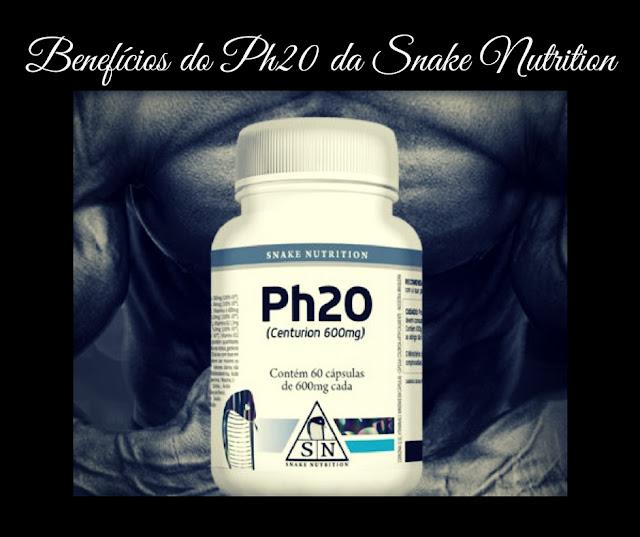Ph20 da Snake Nutrition Benefícios