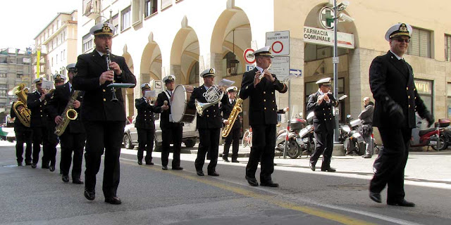 Navy band, Foreign Navies ceremony, Livorno